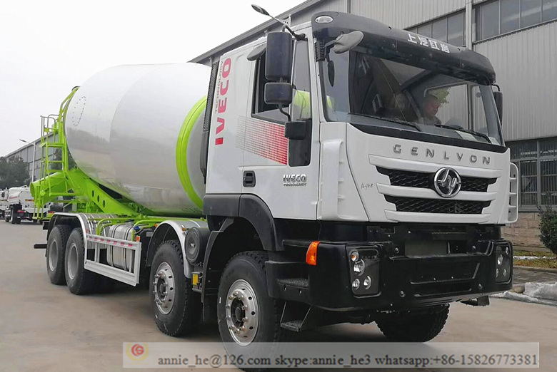 Concrete Cement Mixer Truck