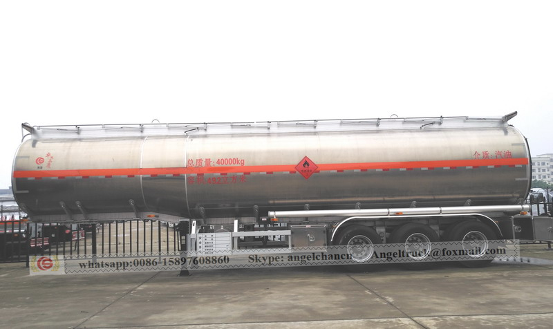 Oil fuel semi trailer from sales