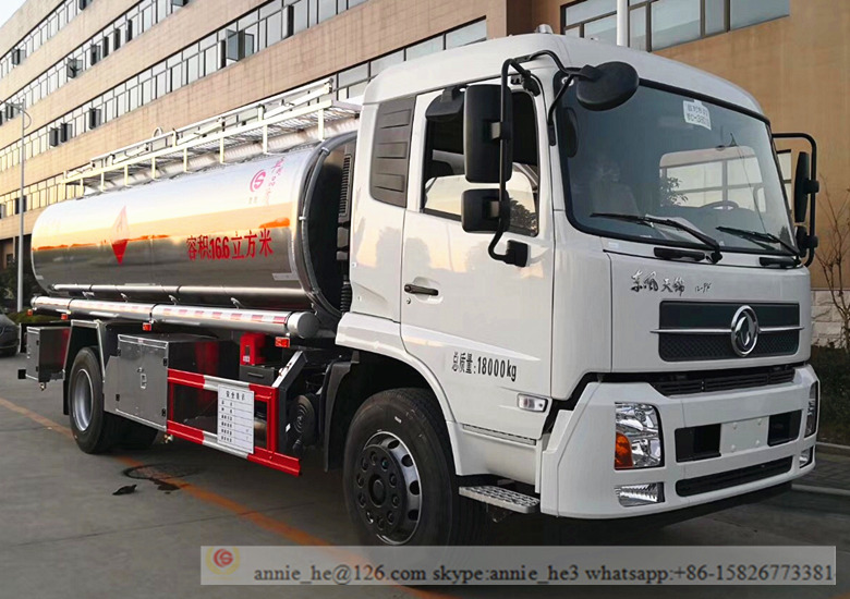 Stainless Steel Fuel Truck