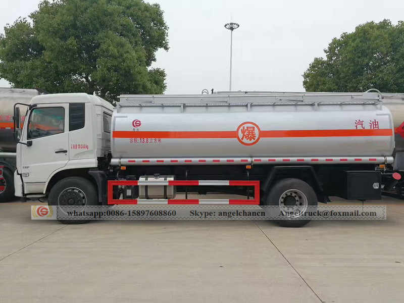 Oil fuel truck for sales