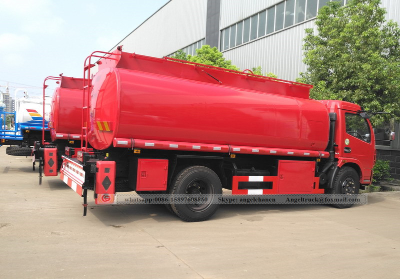Oil fuel tranker truck manufacturer