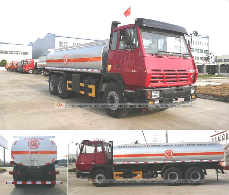 Shacman oil tanker truck