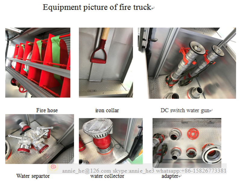 Fire fighting truck for sale