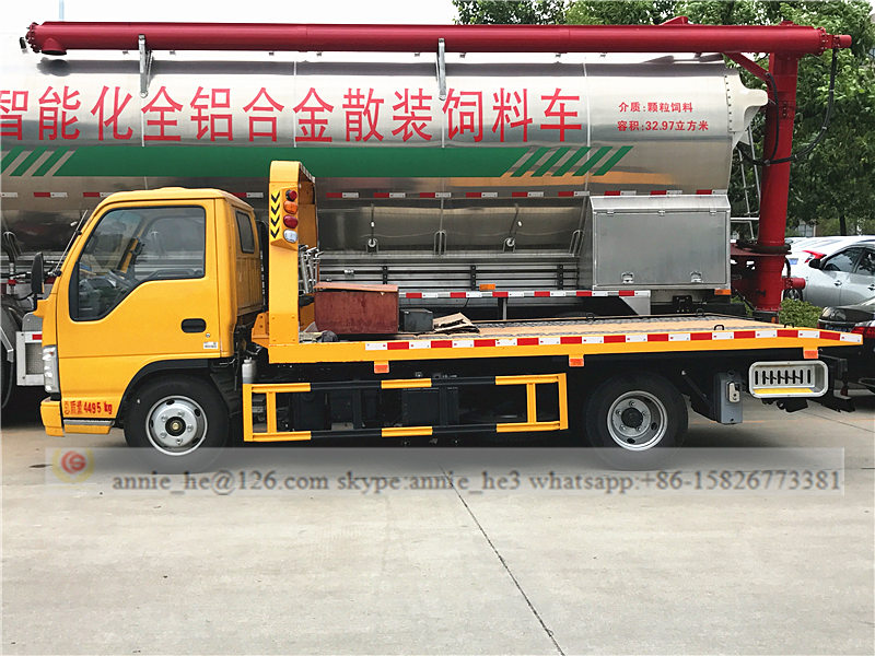 ISUZU tow truck on sale