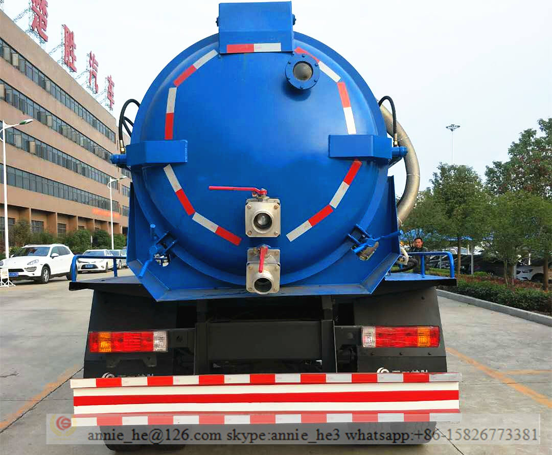 export vacuum truck to Vietnam