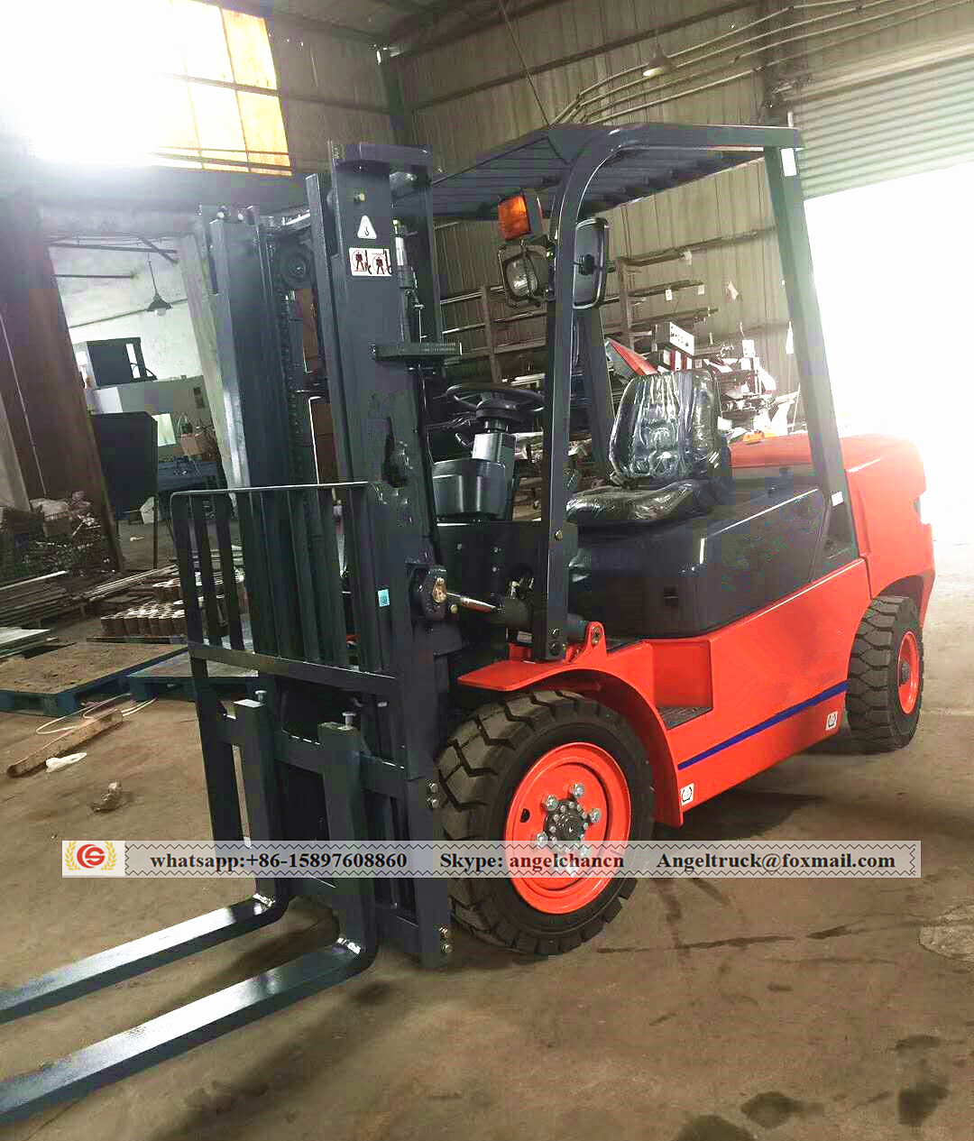 China telescopic forklift