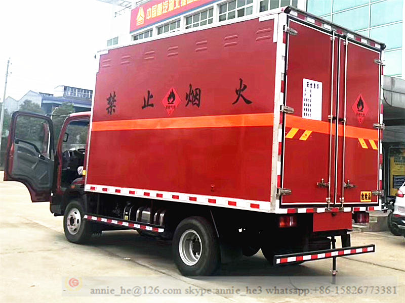 explosion proof van truck