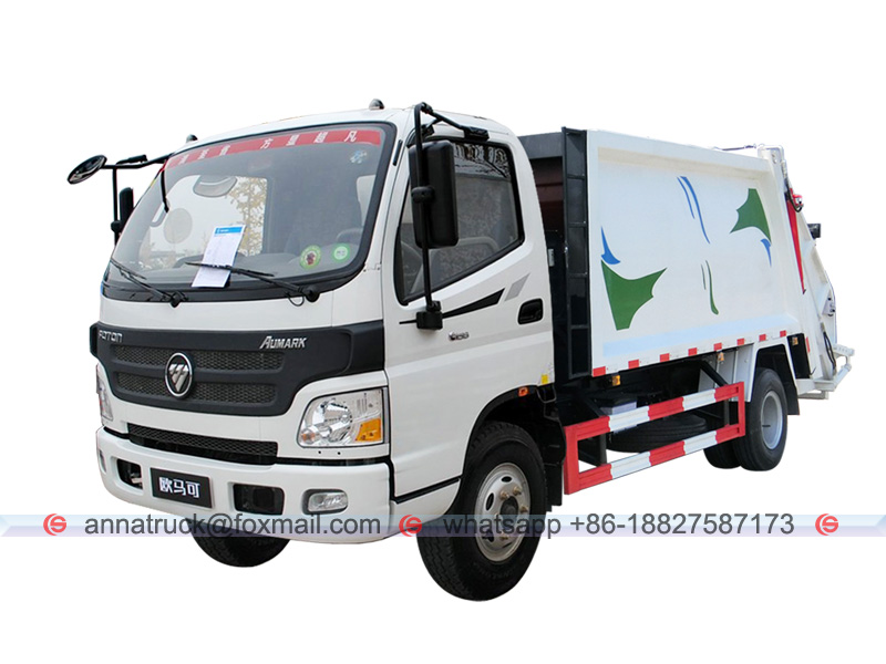 FOTON Garbage Compactor Vehicle-Left Front