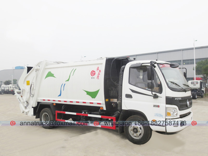 Compactor Garbage Vehicle FOTON