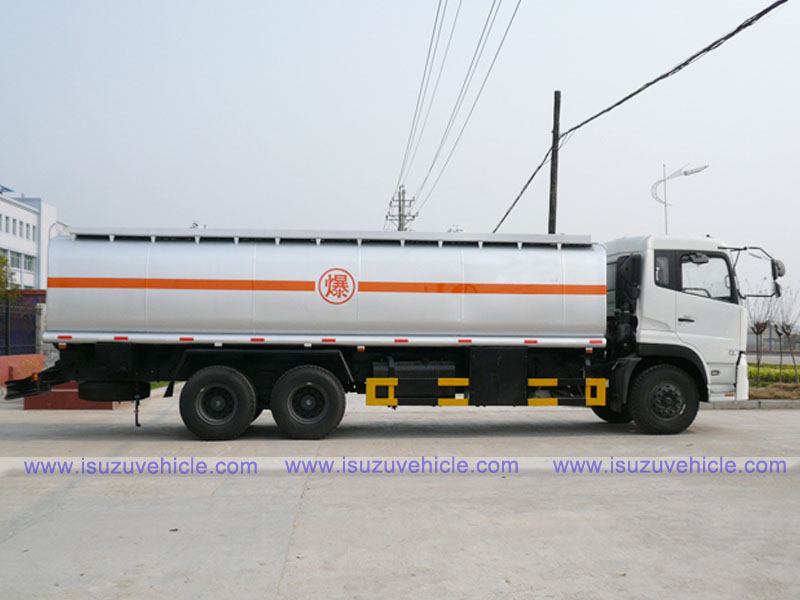 Dongfeng Kingland 22,000 Liters Fuel Transport Truck - Side