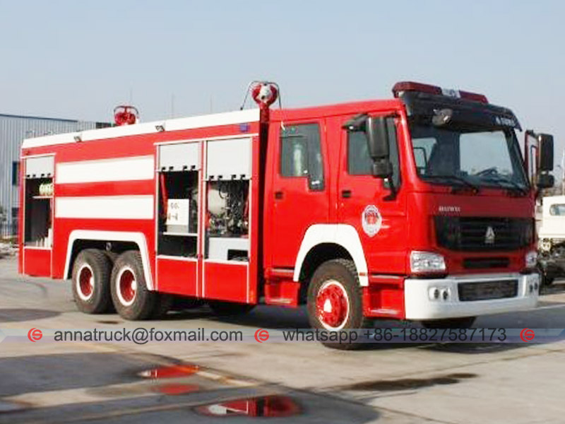 Fire Fighting Truck-2