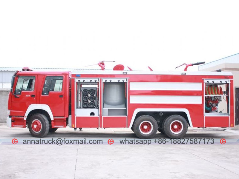 Fire Fighting Truck-3
