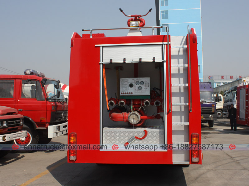 Fire Fighting Truck-4