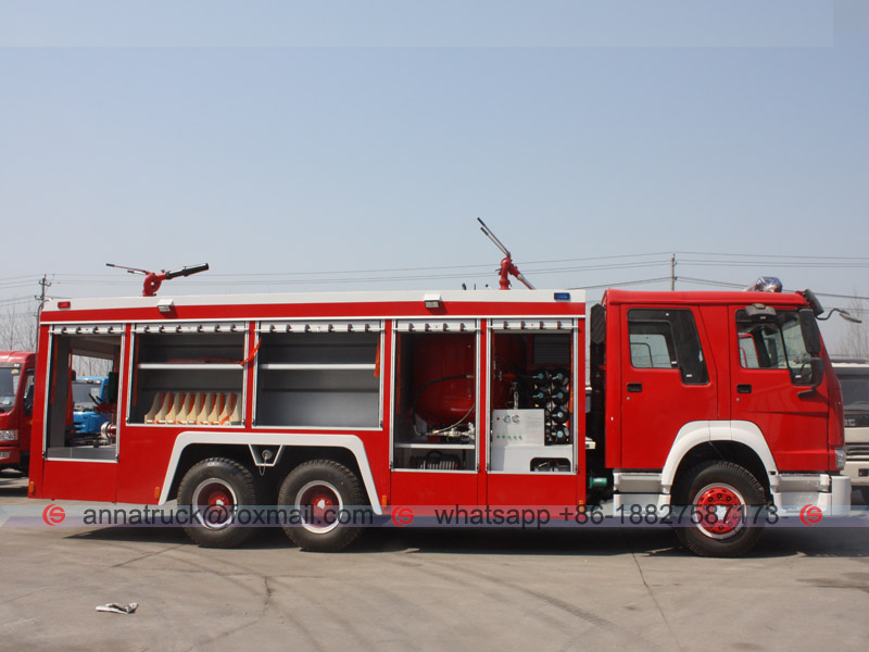 Fire Fighting Truck-5