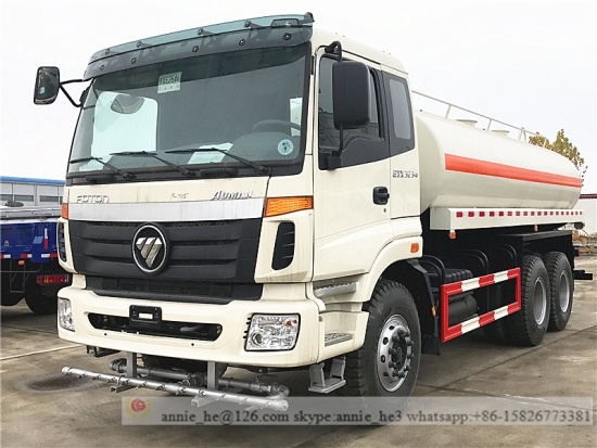 20 CBM Transport Water Tanker Truck