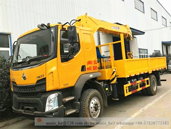 6 Ton Lorry Loading Crane