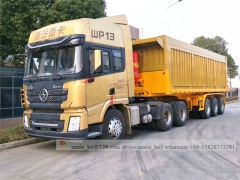 Steel Self unloading semi trailer