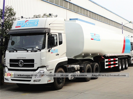 Carbon Steel Oil Fuel Tank Semi Trailer