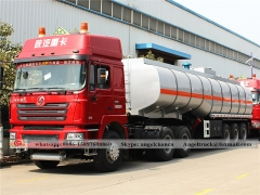 Fuel tank semi trailer