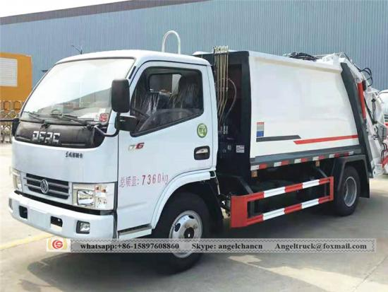 Dongfeng Kinland refuse compactor truck