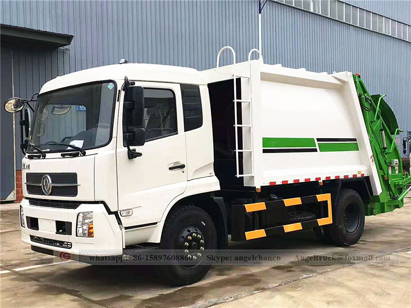 Refuse compactor truck Donfeng