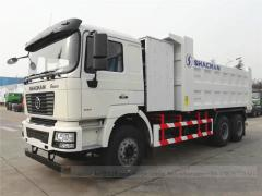 LNG Tipper Truck Shacman 10wheels
