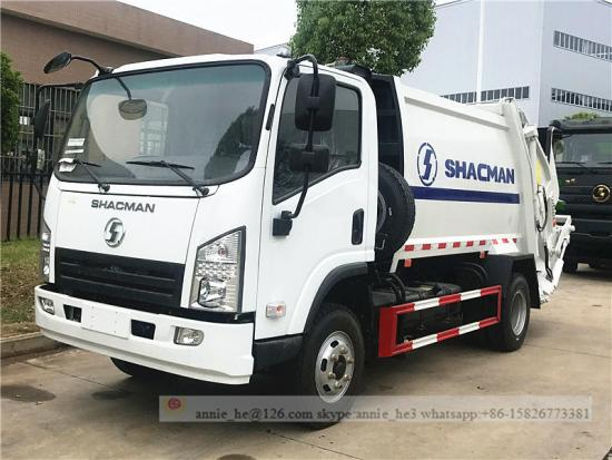 Shacman Compression Garbage Truck