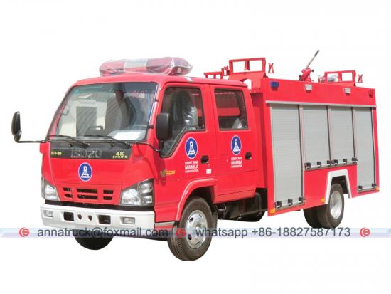 2,000 Liters ISUZU Fire Engine