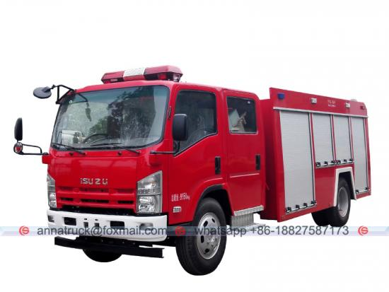 4,000 Liters ISUZU Fire Truck