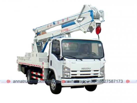 ISUZU 14-18m Articulated Basket Platform