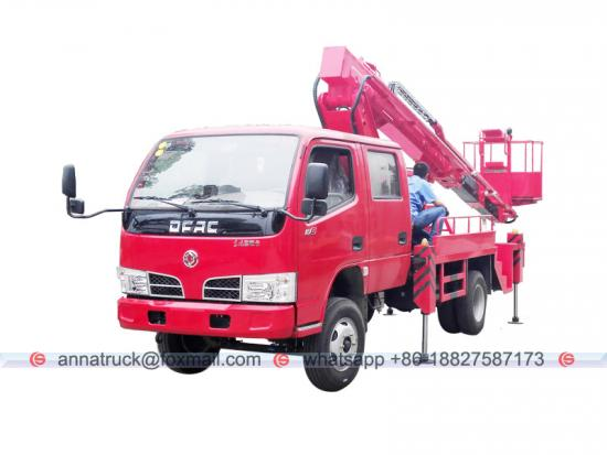 Dongfeng 16 m Telescopic Boom Lifter