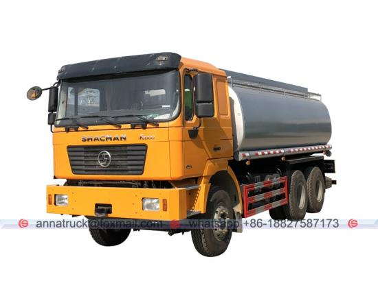 27,000 Liters Shacman Fuel Oil Tanker Truck