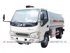 7,000 Liters JAC Oil Tank Truck