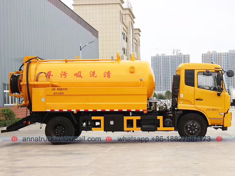 Combined Jetting Vacuum Truck
