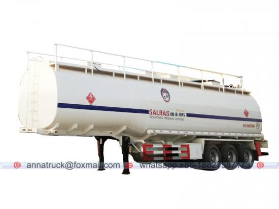 Aluminium Fuel Tank Semi-trailer
