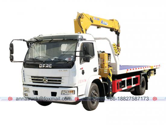 Dongfeng Rescue Road Wrecker Truck