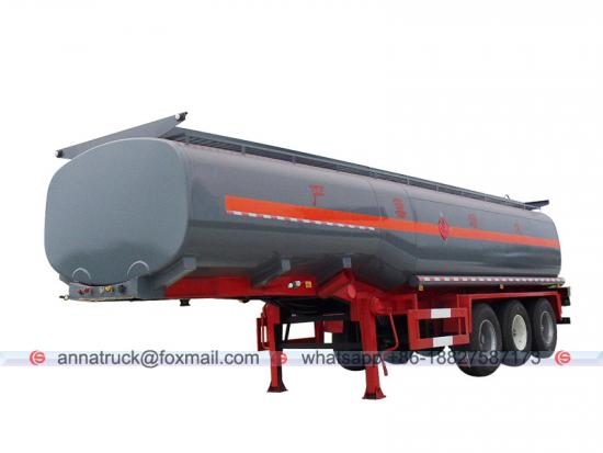 Chemical and Liquid Transport Semi Trailer