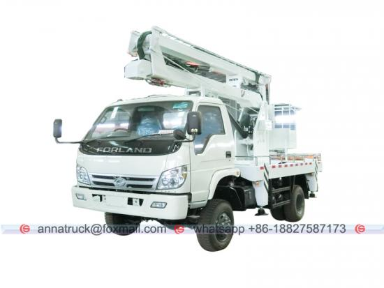 FOTON 14 m 4X4 High Lifting Platform Truck